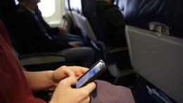 Cellphones In Planes
