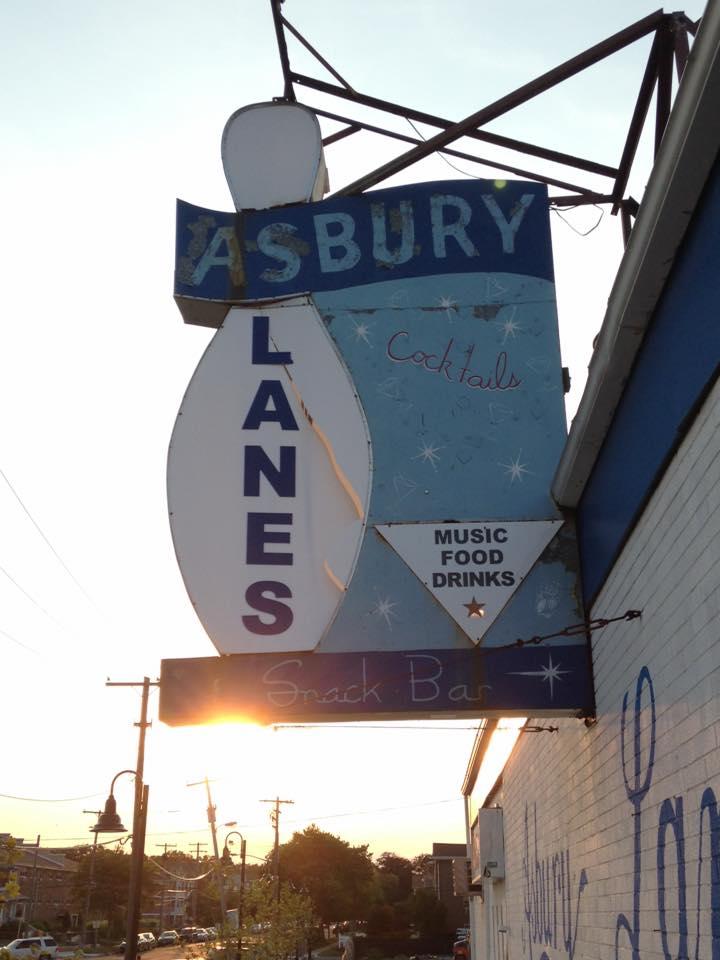 Asbury Lanes Sign